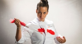 Carlota Bonde (27 años). Chef privado y Jefe de catering de Bonder & Co. Ibiza.