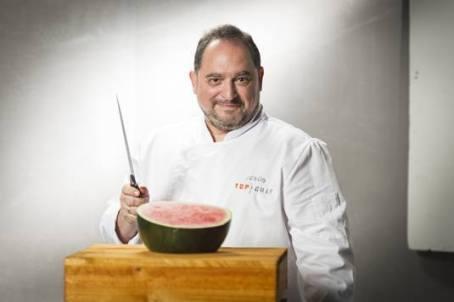 Jesús Vega Cabañas (49 años). Encargado de la partida del cuarto frío del rest. del Hotel Ritz-5 estrellas Gran Lujo. Madrid
