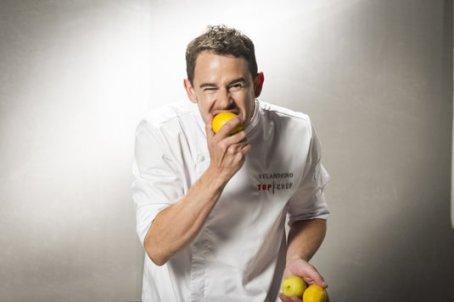 Julio Velandrino (31 años). Jefe de cocina de Back Pack. Murcia.