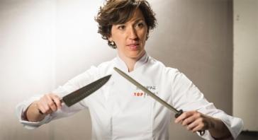 Mari Paz Marlo (40 años). Propietaria de los restaurantes Marlo. Cuenca y Albacete.