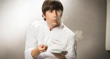 Sergio Bastard (36 años). Chef y copropietario de Casona del Judío -1 Sol Repsol-. Santander.