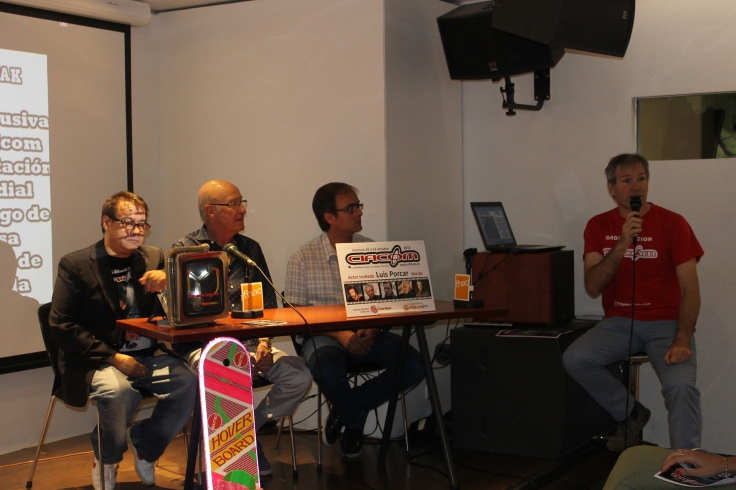 Presentación de CIFICOM por parte del actor Luis Porcar y el CEO del evento, Pedro Torromé