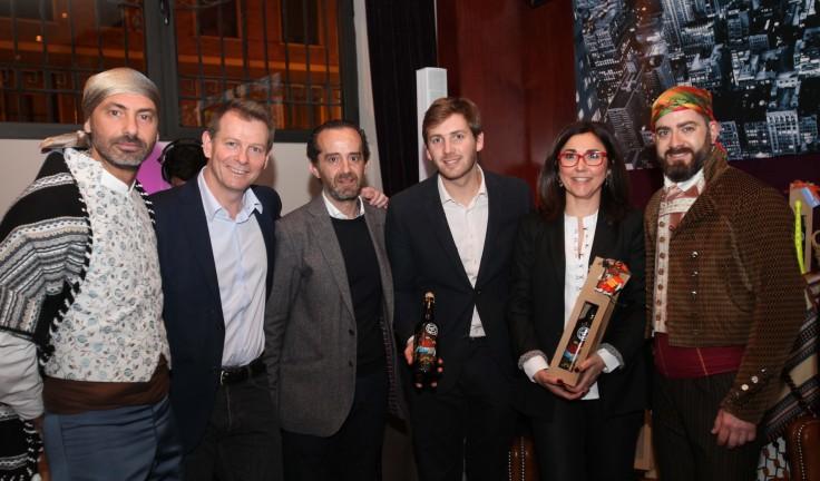 Anabel Navas, Alicia López, Christian Jardel, consejero delegado, Paco Valls  y Johnatan Martin.